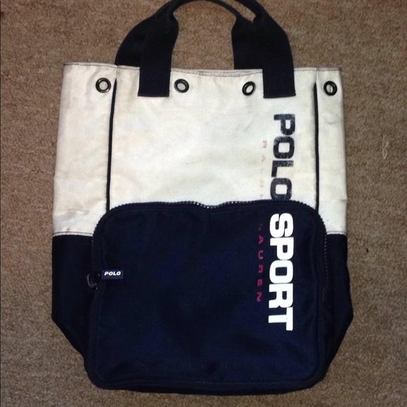 8b78981ac12 polo sport (ralph lauren) Bags   Vintage 1989 Polo Sport Bag ...